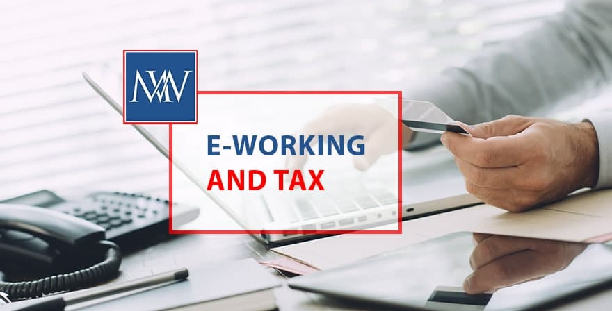 E-working and tax