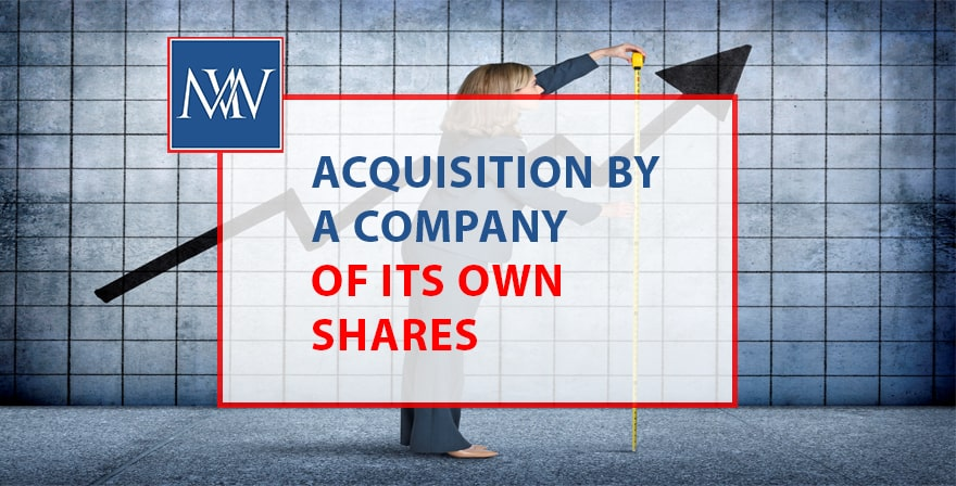 Acquisition by a company of its own share