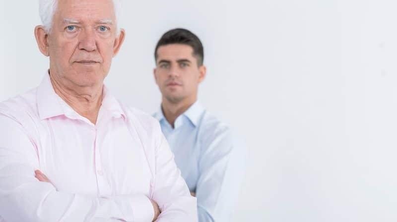 Son's failed investment in father's company