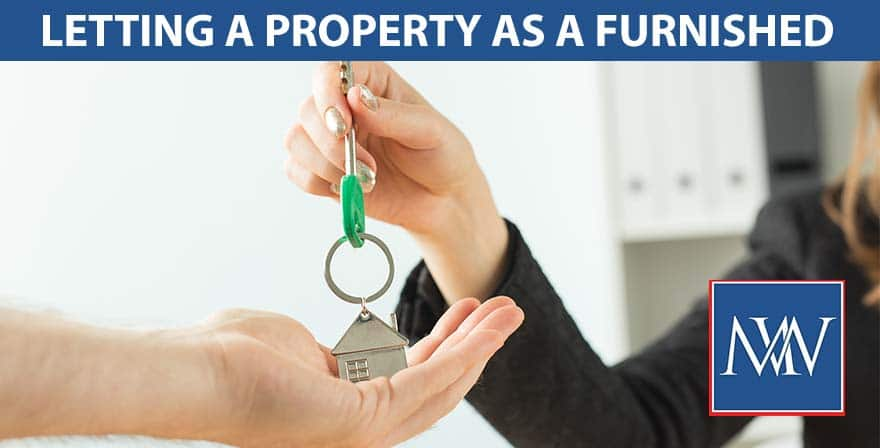 Letting a property as a furnished
