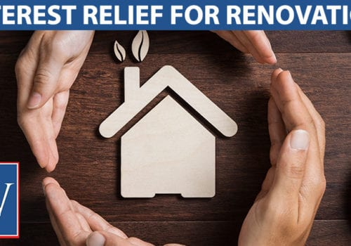 interest relief for renovation