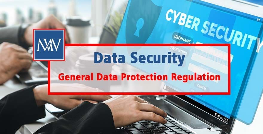 Data security - General Data Protection Regulation - preparation