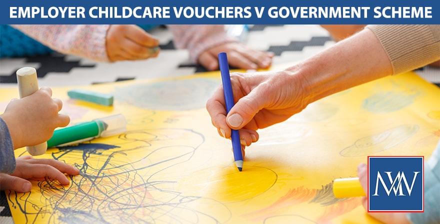 Employer childcare vouchers v government scheme