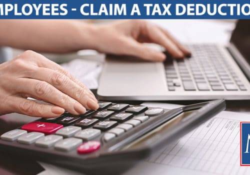 employees claim a tax deduction