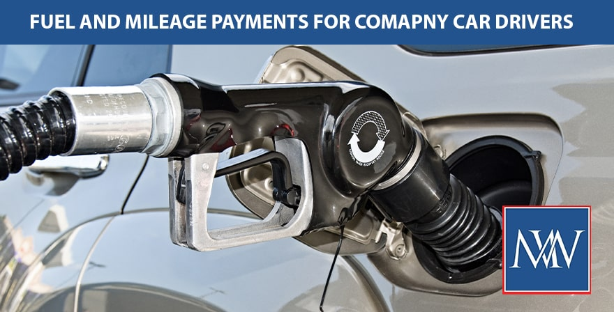 Fuel and mileage payments for company car drivers-min