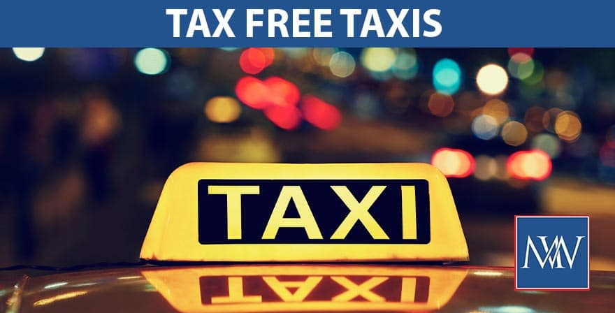 tax free taxis