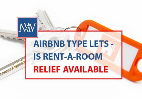 Airbnb type lets is rent a room relief available-min