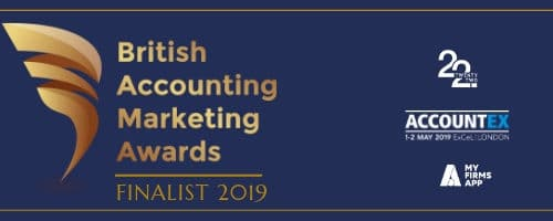 british accounting marketing awards finalist 2019