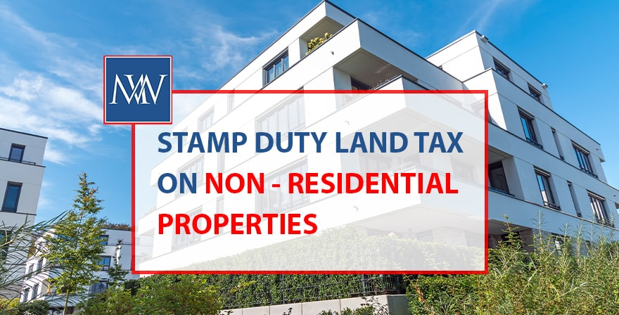 stamp duty land tax on non residential property