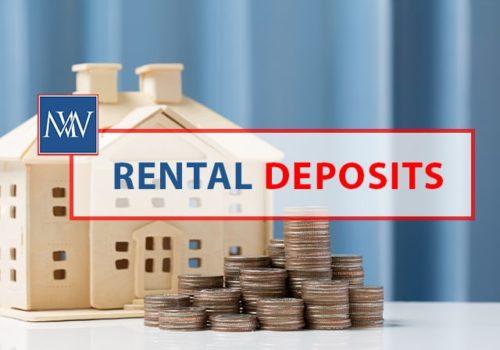 Rental deposits
