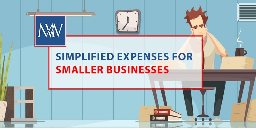 Simplified Expenses for smaller business