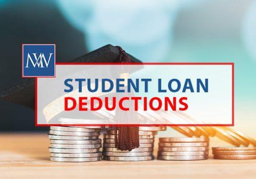 Student loan deductions