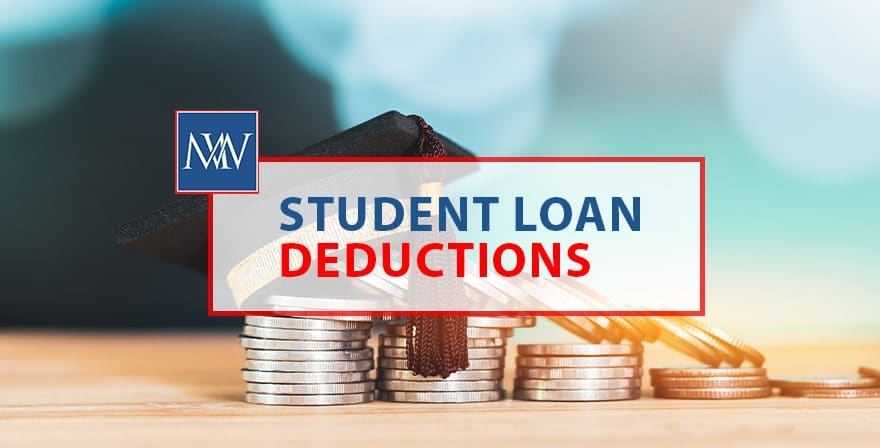 Student loan deductions