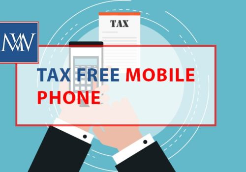 Tax free mobile phone