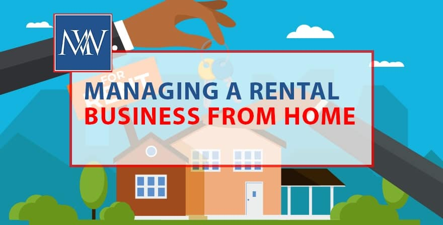 managing a rental business from house