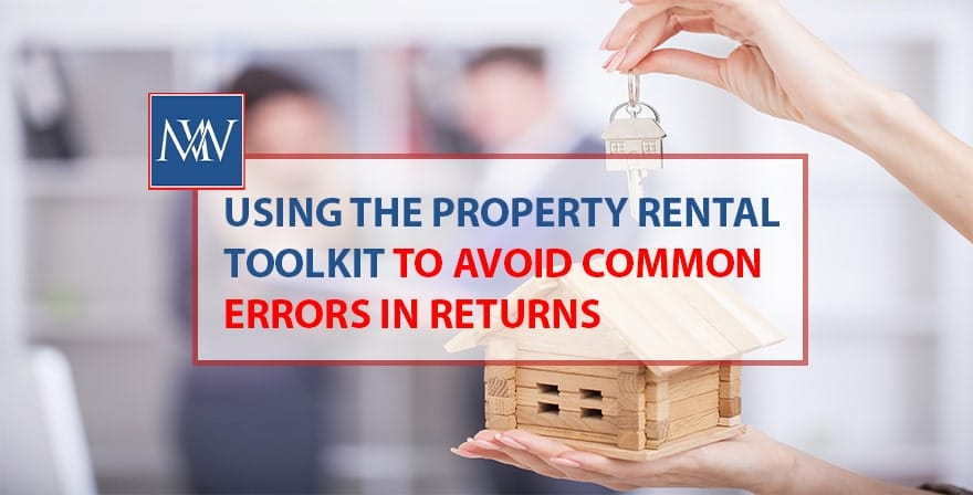 Using the property rental toolkit to avoid common errors in returns