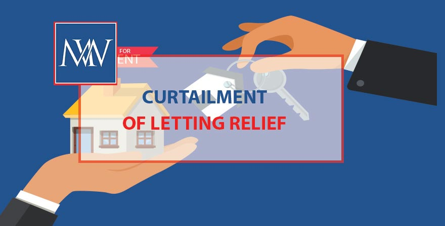 Curtailment of letting relief
