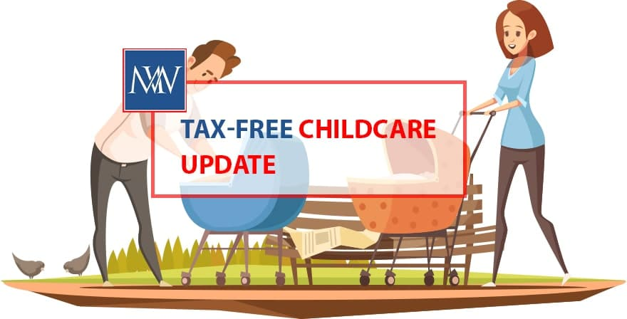 Tax-free childcare update