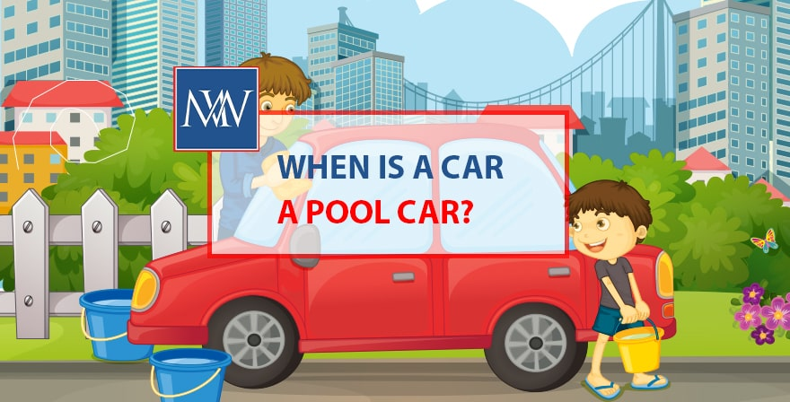 When is a car a pool car