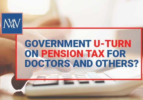 Government u-turn pension tax