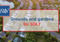 Grounds and gardens for Stamp duty land tax SDLT