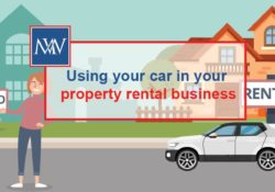 Using your car in your property rental business