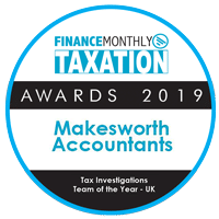 finance monthly awards