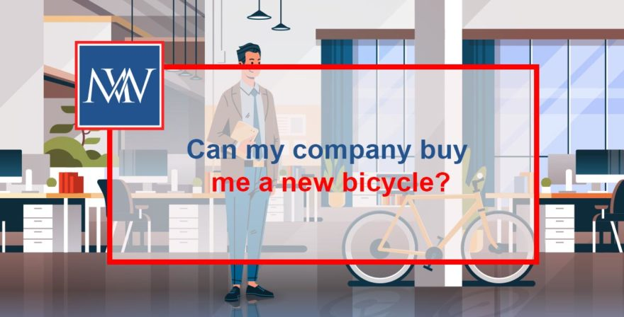 Can my company buy me a new bicycle?