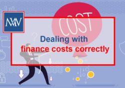 Dealing with finance costs correctly
