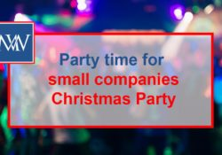 Party time for small companies - Christmas Party