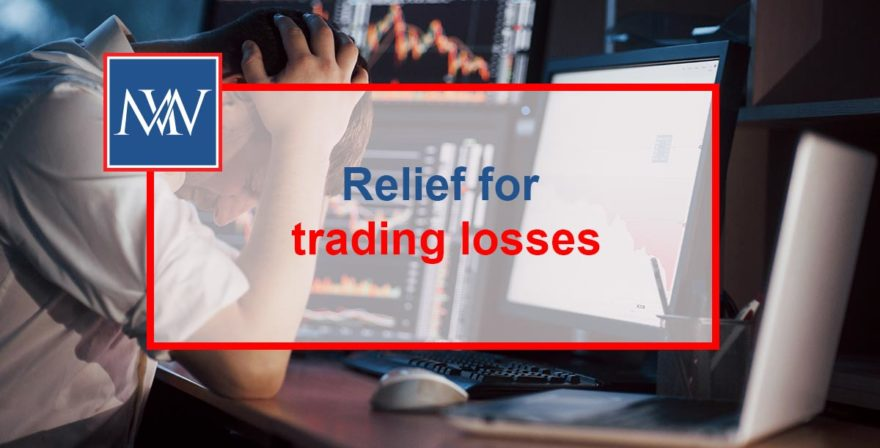 Relief for trading losses