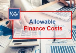 Allowable finance costs