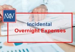 Incidental overnight expenses
