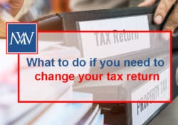What to do if you need to change your tax return