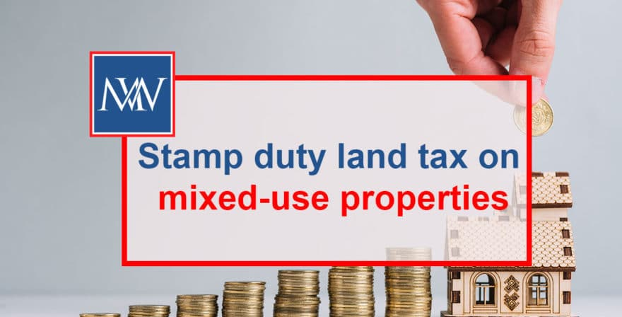 Stamp duty land tax on mixed-use properties