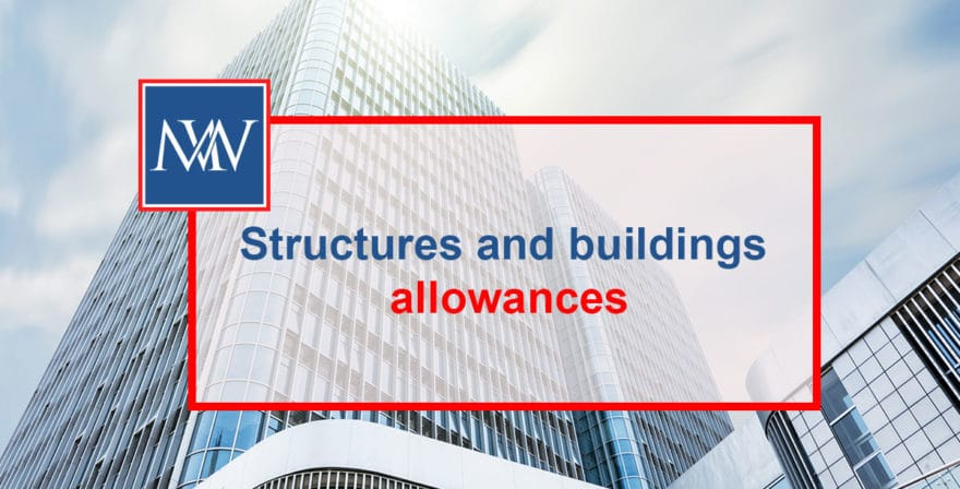 Structures and buildings allowances