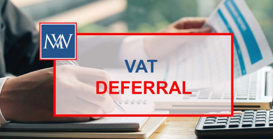 VAT DEFERRAL