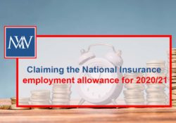 Claiming the National Insurance employment allowance for 2020/21