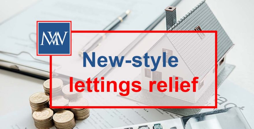 New style lettings relief