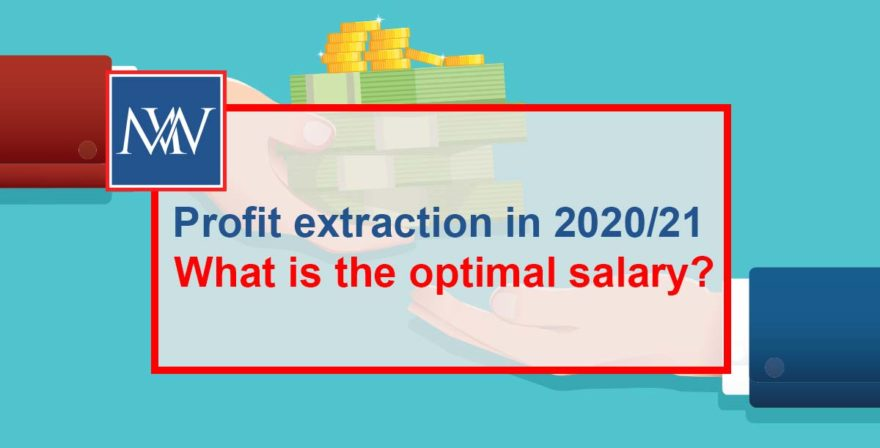 Profit extraction in 2020/21 – What is the optimal salary?
