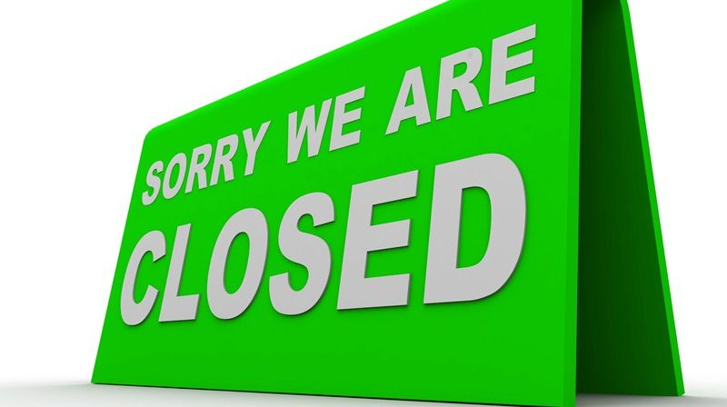 Businesses that must presently stay closed