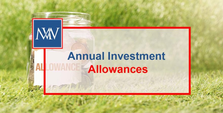 Annual Investment Allowances