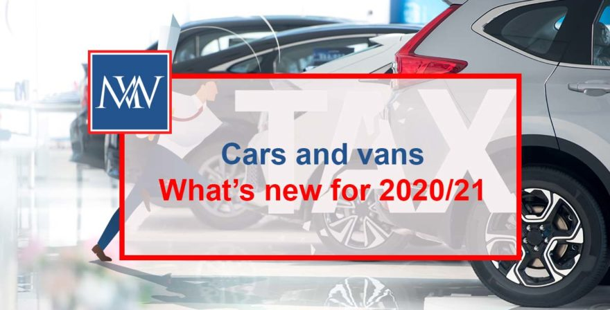 Cars and vans – What's new for 2020/21