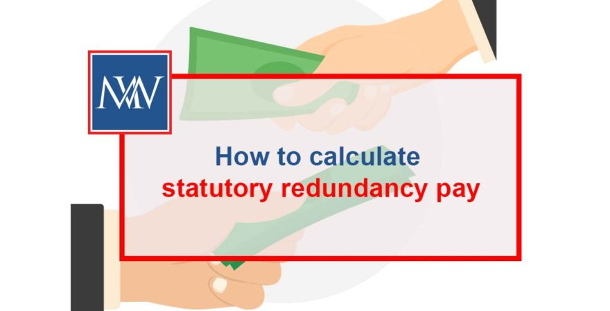 How to calculate statutory redundancy pay