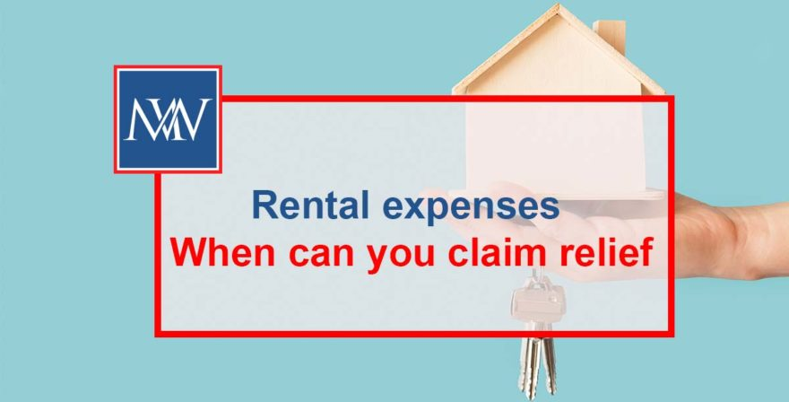 Rental expenses – When can you claim relief