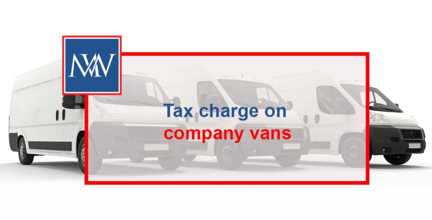 Tax charge on company vans