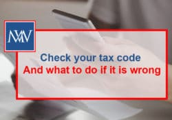 Check your tax code – And what to do if it is wrong