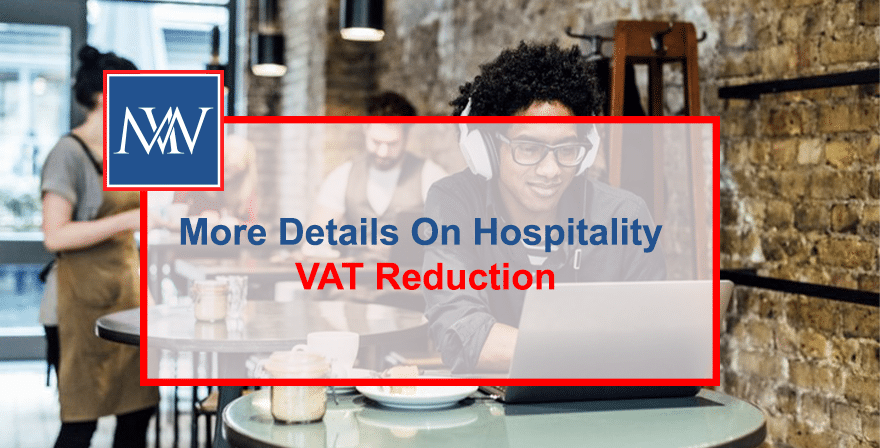 More details on hospitality VAT reduction