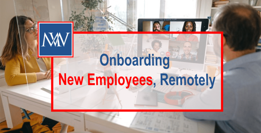 Onboarding new employees remotely