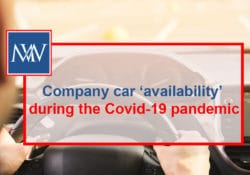 Company car 'availability' during the Covid-19 pandemic